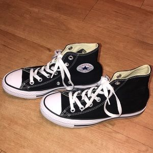 Converse Black High Top Sneakers
